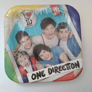 Limited edition one direction plates